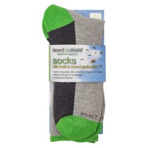 Insect Shield Sport Crew Sock | LA1006