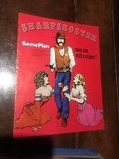 GamePlan SHARPSHOOTER Pinball Machine Game flyer - original
