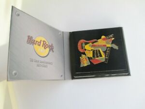 Hard Rock Cafe 2001 LAS VEGAS 30 YEARS ANNIVERSARY RETRO SET PINS NEW WITH CASE