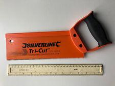 Pre-owned Silverline Tri-Cut Tenon Saw, 10 inch