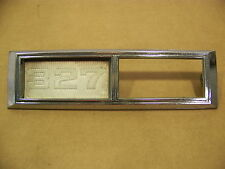 1968 Chevrolet 327 Fender Emblem #3920873 Chevelle Impala OEM