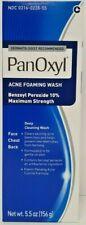 Panoxyl Benzoyl Peroxide 10% Foaming Acne Wash 5.5oz -Expiration Date 07-2021-