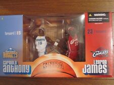 LEBRON JAMES CLEVELAND CAVALIERS CARMELO ANTHONY NBA MCFARLANE FIGURES