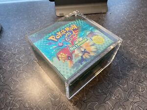Pokemon Skyridge Empty Booster Box