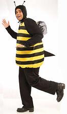 Adult Bumble Bee Costume Yellow & Black Bee Tunic Size XLarge