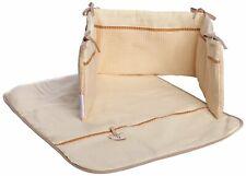 Izziwotnot 2 Piece Crib Coverlet & Bedding Set - Cream Gift