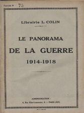 LE PANORAMA DE LA GUERRE 1914-1918  fascicule N° 75