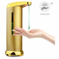 Waterproof Touchless  GOLD Hand Infrared Sensor Liquid Soap Dispenser