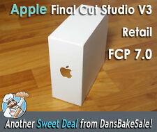 Apple Final Cut Studio Ver 3 Retail Final Cut Pro 7.0 FCP in Excellent Condition