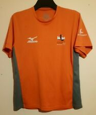 TCS AMSTERDAM MARATHON 2013 OFFICIAL ORANGE T SHIRT MIZUNO M TATA LE CHAMPION