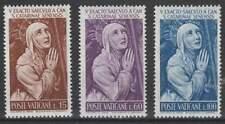 Vaticaan postfris 1962 MNH 402-404 - Heilige Katharina van Siena