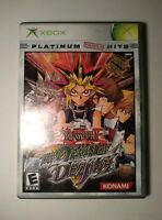 Yu-Gi-Oh The Dawn of Destiny (Microsoft Xbox, 2004) MINT SHAPE TESTED