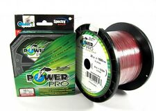 Power Pro Braided Spectra Line 40lb by 1500yds Red (4915)