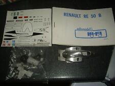 RARE HIFI AUTOMODELLI RENAULT RE 50 B FORMULE 1 1984 REF 48