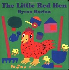 The Little Red Hen Board Book by Byron Barton