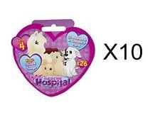 New Animagic Rescue Hospital S4 - Mini Pet Figures Foil Surprise Party Bags x 10