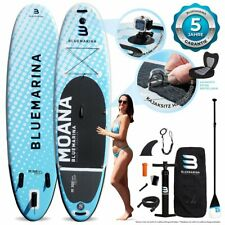 SUP Board MOANA - Stand Up Paddle aufblasbar Surfboard mit Paddel Pumpe Rucksack