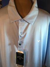 Callaway Mens Golf Shirt Xl Blue Nwt