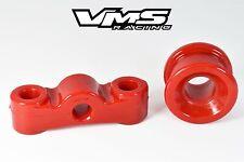 VMS RACING RED POLYURETHANE SHIFTER STABILIZER BUSHINGS FOR 99-00 HONDA CIVIC SI