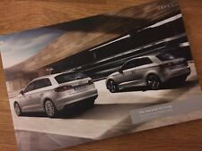 Audi A3 Brochure May 2013 - 2014 MY - MINT Condition