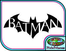 Batman Logo I Vinyl Sticker Wall Art Poster Bedroom Car Laptop Bike Window Decal