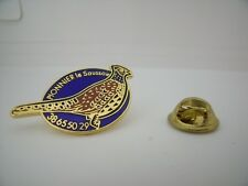 Pin's Pins Pin Badge Pionnier  SAUSSOIR Elevage Gibier CHASSE HUNTING Wild Game