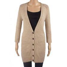 Marks and Spencer Wool Hip Length V Neck Women's Jumpers & Cardigans