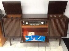 Vintage Mid Century TELEFUNKEN SALZBURG 2554 HI-FI STEREO. CONSOLE room divider