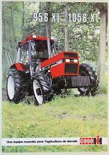 prospectus brochure tracteur CASE IH 956 1056 XL  tractor traktor prospekt
