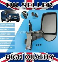 COMPLETE DOOR WING MIRROR ELECTRIC HEATED RIGHT O/S FOR FORD TRANSIT MK6 MK7