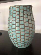 Jean Besnard (1889 -1958) vase bleu turquoise ,