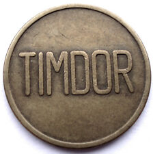 Netherlands Timdor Token 22mm 4.2g Brass Gg5.4