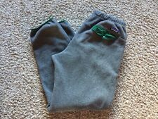 Patagonia Men's Synchilla Snap-T Fleece Pants Gray - Large L Contrast Pocket