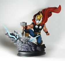THOR STRIKE DOWN statue-Bowen Designs~Avengers~Marvel Comics~Hammer~NIB