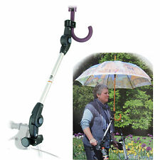 Orig. MPB® Rollator Schirm-Halter ST 19-26, Befestigung für eigenen Regenschirm