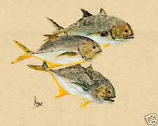 "Gyotaku Fish Rubbing - ""Jack Attack"""