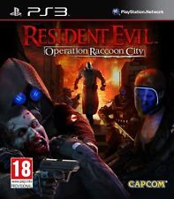 RESIDENT EVIL - Operation Racoon City (15) Capcom  2012 Sony Playstation 3 Game