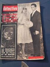 Détective 1965 992 BéZU ENGHIEN MAILLé ANNONAY CHEYLARD CROIX BAN FLAVY MARTEL