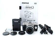 PENTAX Q10 black/Silver 12.4MP Digital Camera Std Zoom Lens Kit #714667-1539