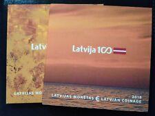 Latvia 2018 Euro Coin Munzen Set Lettland Lettonia RARE