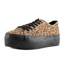 Chaussures marrons en daim pour femme