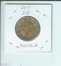 2011 2€ AUSTRIA 2 Euro Bimetallic Coin BERTHA VON SATTNER  !!!