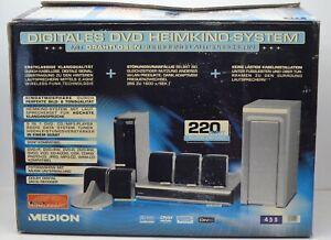 dvd heimkino-system medion md 81468 DOLBY SURROUND unbenutzt