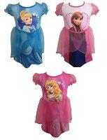 DISNEY Princess Fancy Dress Up Costume Frozen Cinderella Anna Princess 3 4 5 6