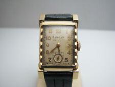 f058 Vintage Bulova 7AK Mechanical Men's Wrist Watch