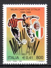 Italy - 1999 AC Milan national soccer champion - Mi. 2637 MNH