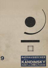 Vintage BAUHAUS PUNKT AND LINE, 1926, by Kandinsky 250gsm A3 Poster