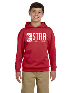 Star Labs Youth Hoodie Sweat Shirt The Flash STAR LABORATORIES Christmas Gift!