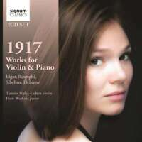 Tamsin Huw Watkins - 1917: Works Pour Violon Et Piano Neuf CD