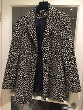 Apart Leopard Print Jacket Size L